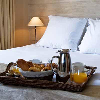 Suite hôtel Les Costans