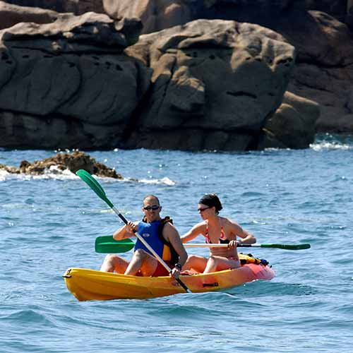 location kayak perros guirec