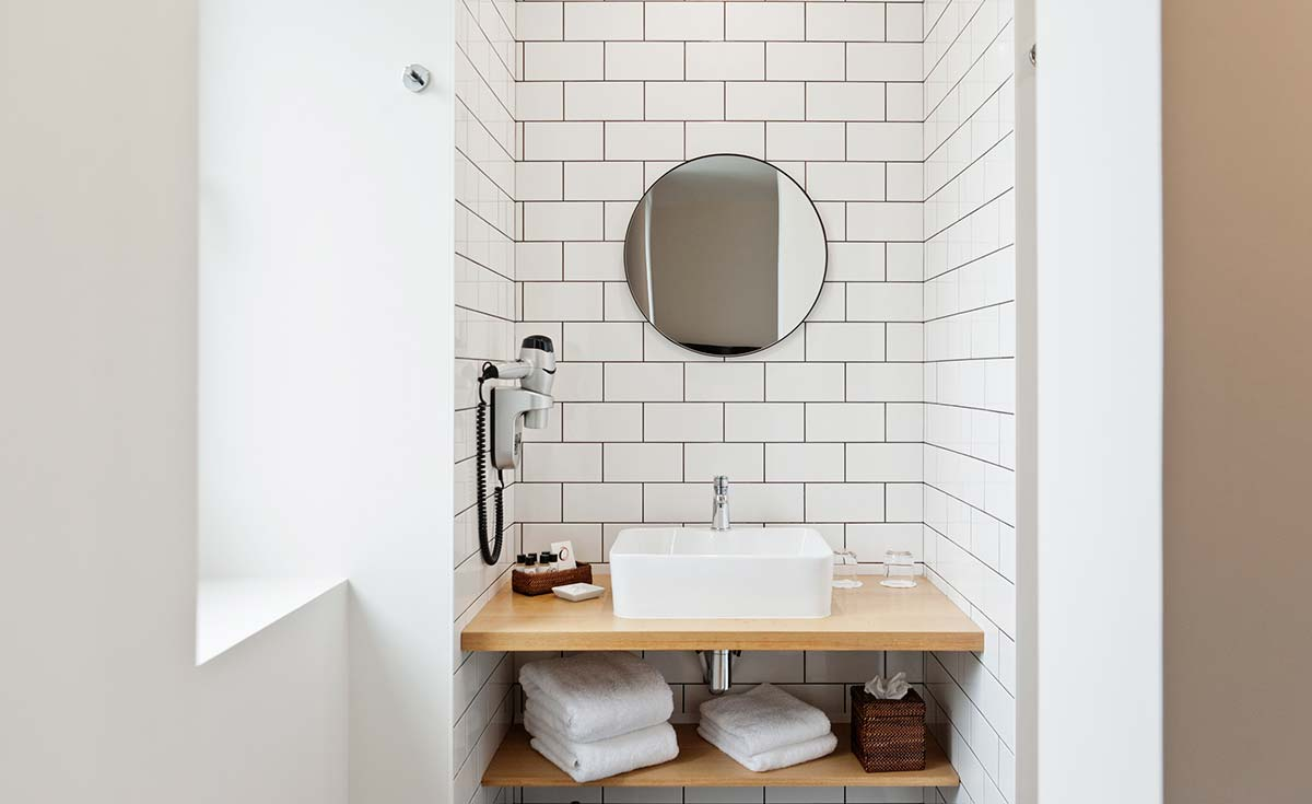 salle de bains suite