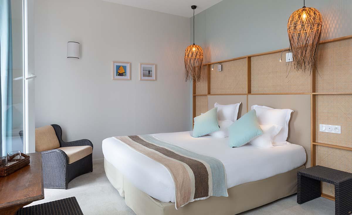 Chambre terrasse mer Hotel Les Costans