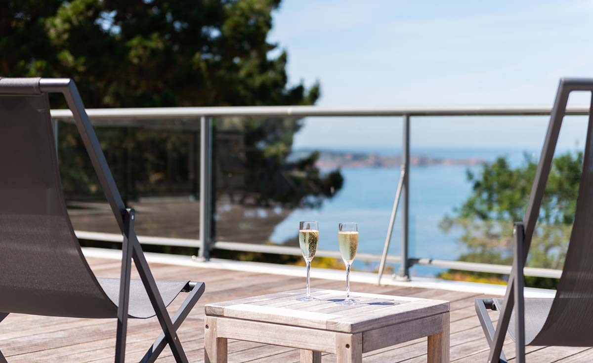 Hotel Costans suite terrasse-mer